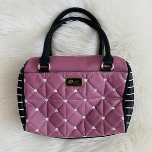Betsey Johnson // Luv Betsey Purple Quilted Purse